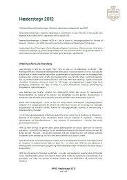 Hæderstegn 2012 - HPRD - Hovedorganisationen for Personel af ...