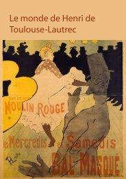 Le monde de Henri de Toulouse-Lautrec - Statens Museum for Kunst