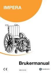Brukermanual Impera - Handicare AS