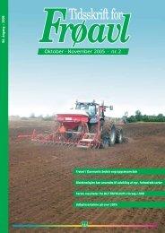 Tidsskrift for Frøavl nr. 2, oktober/november 2005 - DLF-TRIFOLIUM ...