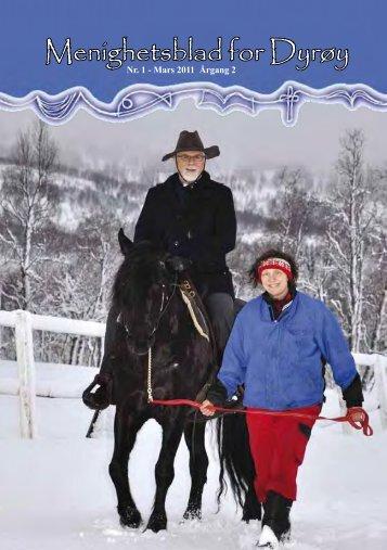 Menighetsblad for Dyrøy Nr. 1 - Mars 2011 Årgang - Mediamannen