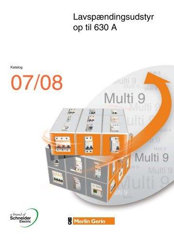 1 Gruppetavler & CEE materiel - Schneider Electric