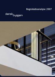Regnskabsanalyse 2007 - Dansk Byggeri