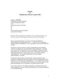 05-01-2006 - AR 2005.105 . Sygehusfællesskab mod 3F - CO-SEA