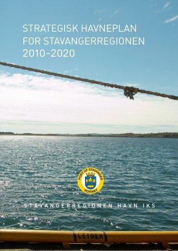 STRATEGISK HAVNEPLAN FOR STAVANGERREGIONEN