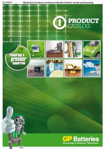 GP Batteries og belysning - dj tools