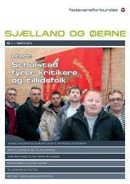SJÆLLAND OG ØERNE - Fødevareforbundet Sjælland og Øerne - Nnf