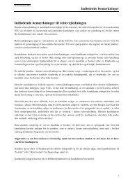 Rettevejledning 2012 - Erhvervsstyrelsen