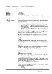 Referat af møde nr 14 - DEFF