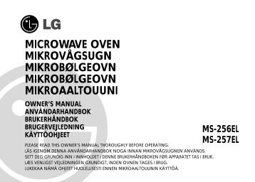 MICROWAVE OVEN MIKROVÅGSUGN MIKROBØLGEOVN ...