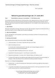 Generalforsamling d. 21. marts 2013 - sammenslutningen af ...