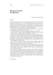 Retfærd nr 3-2010 - Kunstneromtale: Pia Rönicke