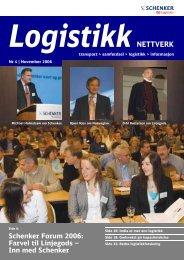 2006-4 Logistikk Nettverk - Schenker