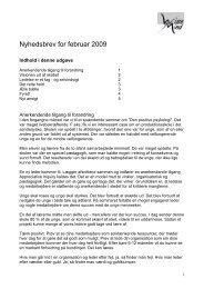 Nyhedsbrev for februar 2009 - Wise Mind