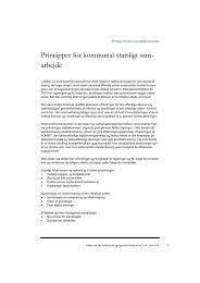 Bilag 3.Principper for kommunal-statsligt samarbejde