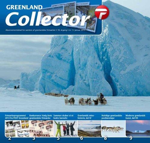 Greenland Collector 1/2013 - Post Greenland - Filatelia