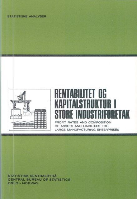 SA 3 - Statistisk sentralbyrå