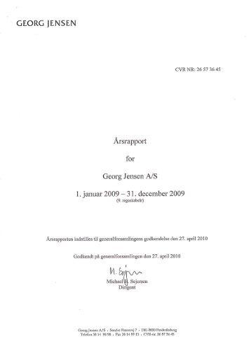 GEORC. JENSEN - Georg Jensen