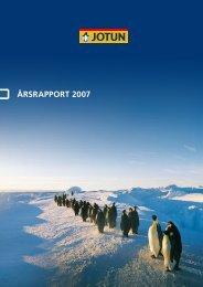 ÅRSRAPPORT 2007 - Jotun