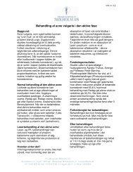 Behandling af acne vulgaris i den aktive fase - Privathospitalet ...