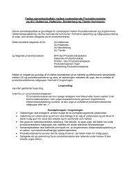 Fælles samarbejdsaftale mellem UU og ... - UU Tønder