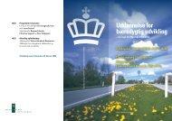 Program for Undervisningsministeriets konference (PDF ... - AIDOH