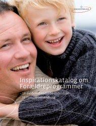 Inspirationskatalog om Forældreprogrammer