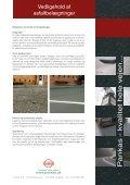 Vedligehold af asfaltbelægninger - Pankas - Page 2