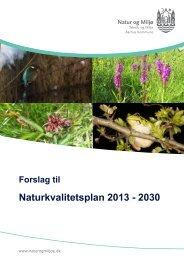Naturkvalitetsplan 2013 - 2030 - Velkommen til Århus Kommune
