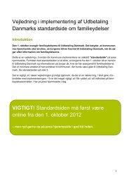 Vejledning i implementering af Udbetaling Danmarks ... - Borger.dk