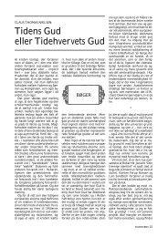 Tidens Gud eller Tidehvervets Gud - Claus Thomas Nielsen