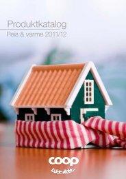 Last ned Produktkatalog Peis & Varme 2011/12 her - Coop Norge