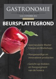 Programma Gastronomie 2012 (pdf)