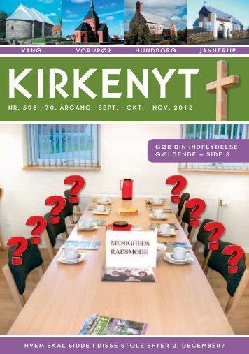 Kirkeblad 598 August - November 12 - Hundborg kirke
