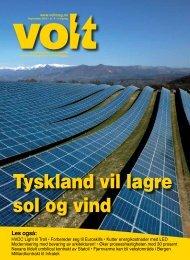Tyskland vil lagre sol og vind - Volt