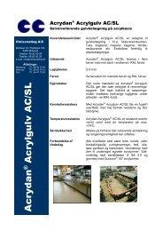 Acrydan® Acrylgulv AC/SL - Chriscoating