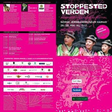 program - Stoppested Verden