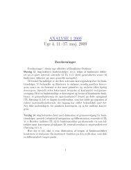 ANALYSE 1 2009 Uge 4, 11.-17. maj, 2009 - alfin.dk