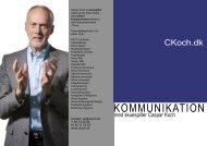 Download brochuren om kommunikation i pdf-format - Caspar Koch