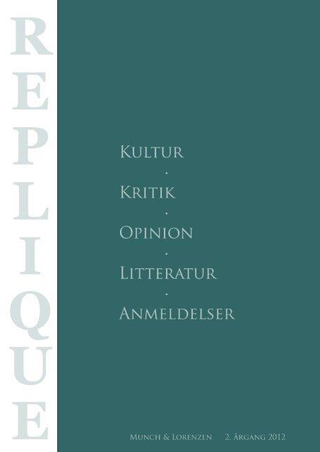 Printervenlig udgave - Årsskriftet Critique