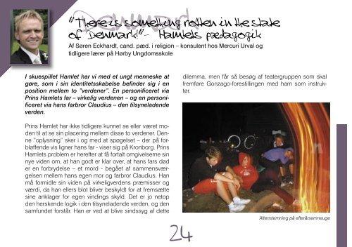 årsskrift 2005.indd - Efterskolen blandt efterskoler Nordjylland Idræt