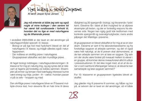årsskrift 2005.indd - Efterskolen blandt efterskoler Nordjylland|Idræt
