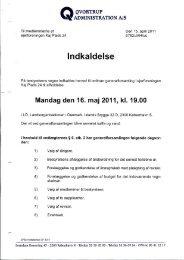 Generalforsamling 16. maj 2011 - Kajplads 24