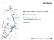 WP 1: InterCity tog og Green Freight Corridor ... - 8 Million City