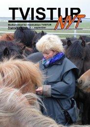 Medlemsblad for rideklubben TVISTUR Årgang 2005 - Nr. 3 ...