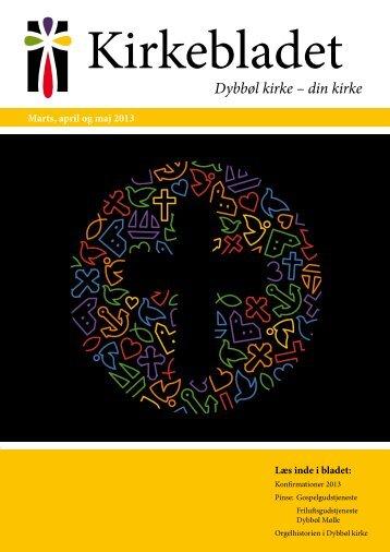 Kirkebladet marts 2013 - Dybbøl Kirke