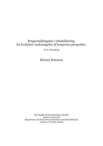 Download afhandlingen her - Marselisborgcentret