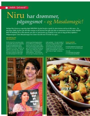 Indisk på norsk-Glad i Mat - Masalamagic