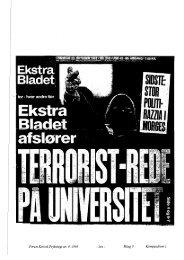Forum Kritisk Psykologi nr. 9, 1995 - lxix - Bilag 9 ... - Gaderummet
