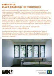 sengestue eller bøgeskov en forårsdag - Designskolen Kolding